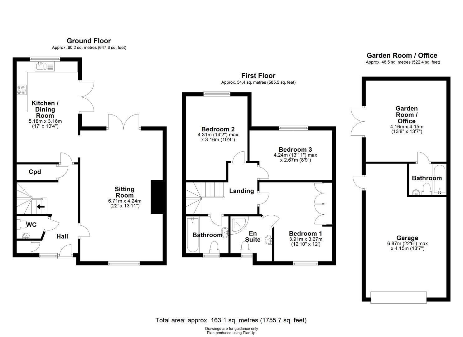 Floor plan Church Lane, Isleham, Ely